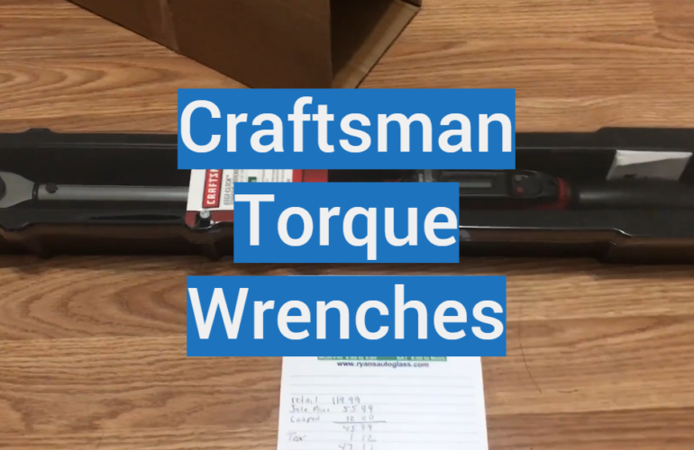 5 Craftsman Torque Wrenches
